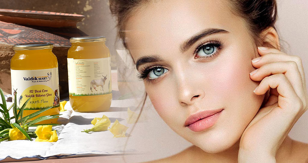 GHEE BENEFITS for skin and hair